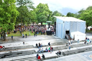 Music in Parc des Bastions, 2011. Credit: Patrick G. Lopreno via Fête de la Musique website