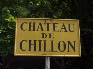 Chateau Chillon sign 4040