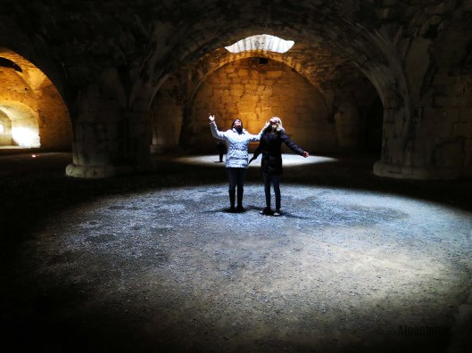 The stony vault.