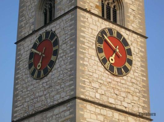 St. Johann clock tower.
