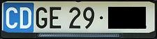 Swiss Diplomatic Plate.