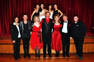 Performers from the 2013 Valentine's Cabaret