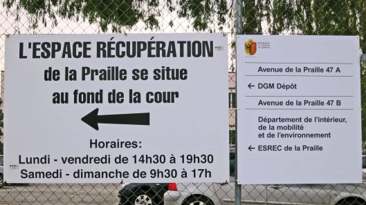Recuperation Sign
