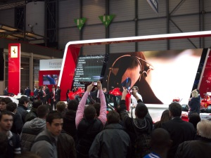 Crowds at the 2013 Geneva Auto Show