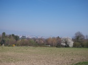 The city of Geneva in the distance