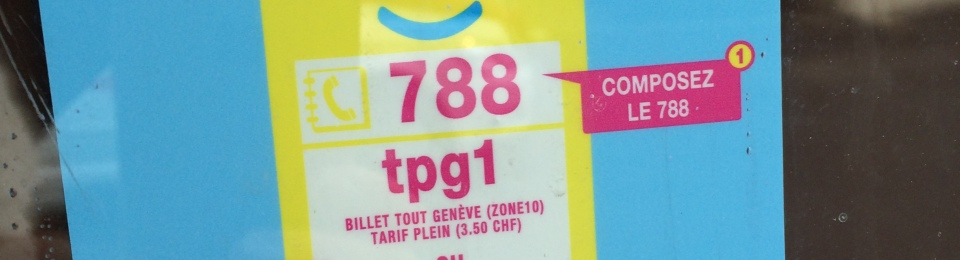 buying Geneva bus ticket
