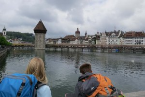 Checking out Luzern.