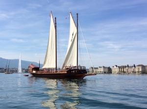 Old boats in Geneva