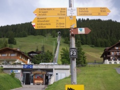 The Allmendhubelbahn and hiking trails