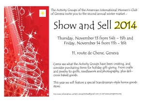 Show and Sell 2014 Postcard