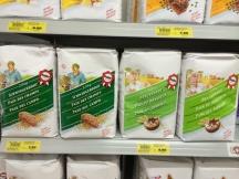 Bread mixes in Geneva.