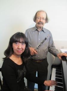 Noriko Kojima and Alain Guex