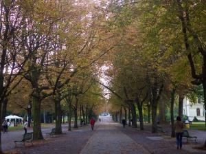 Parc des Bastions in the autumn