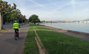 Biking in Geneva