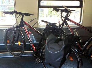 Bike wagon on Swiss Train