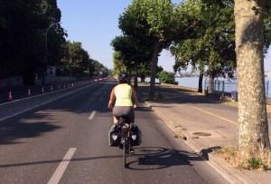 Biking quaie