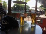 Beer along the Aare.