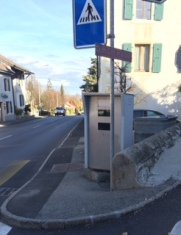 Swiss speed camera