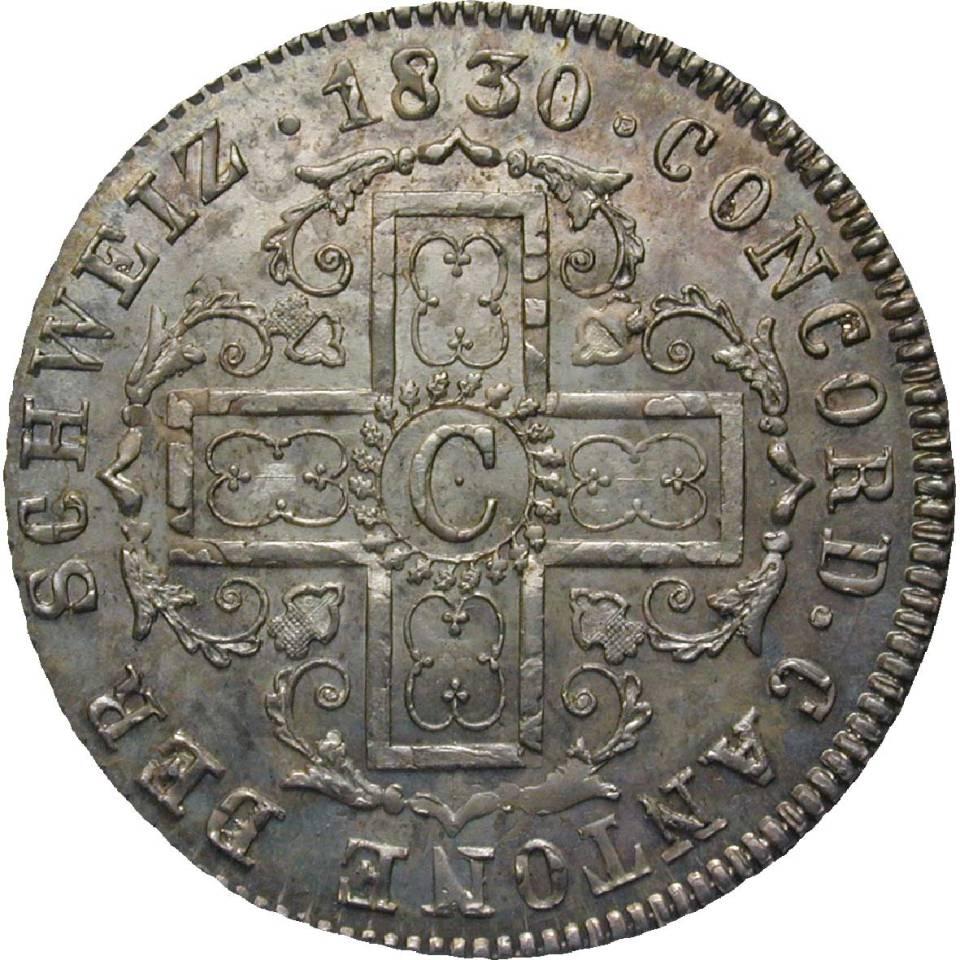 1830 Coin Canton Freibourg