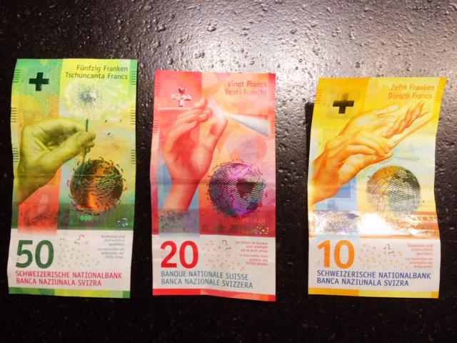 New Swiss Bills
