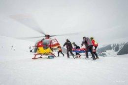 Air Glacier mountain rescue