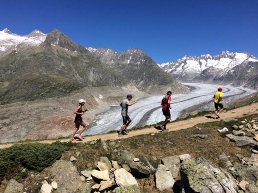 Aletsch Glacier half marathon