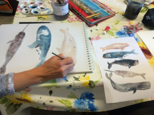 AIWC Sketching and Painting