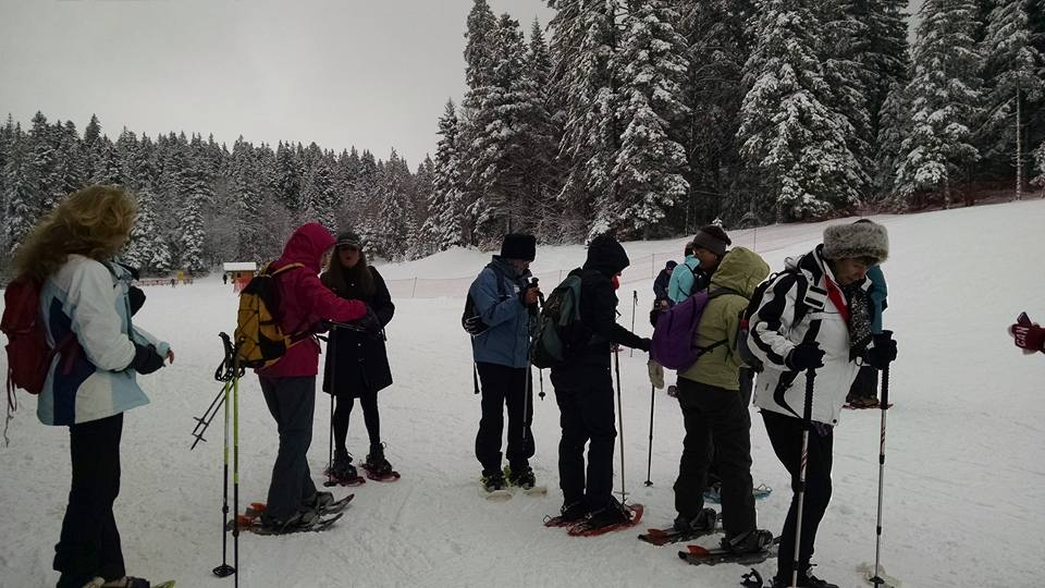 AIWC Snowshoeing